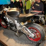 Aprilia RSV4 RR rear left three quarter at EICMA 2014