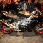 Aprilia RSV4 RR side at EICMA 2014