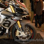 Aprilia Tuono V4 1100 RR front wheel at EICMA 2014
