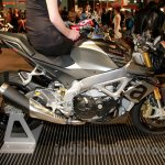 Aprilia Tuono V4 1100 RR side at EICMA 2014
