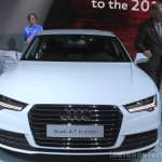 Audi A7 Sportback h-tron front at the 2014 Los Angeles Auto Show