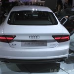 Audi A7 Sportback h-tron rear at the 2014 Los Angeles Auto Show