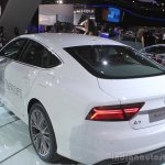 Audi A7 Sportback h-tron rear three quarters at the 2014 Los Angeles Auto Show