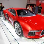 Audi Nanuk Concept front quarters at 2014 Guangzhou Auto Show