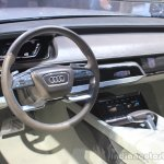 Audi Prologue Concept interior at the 2014 Los Angeles Auto Show