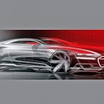 Audi Prologue concept sketches front quarter