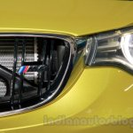 BMW M4 Coupe M4 logo on the grille for India