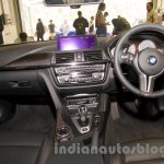 BMW M4 Coupe dashboard for India