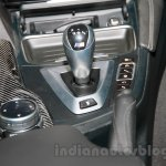 BMW M4 Coupe gear shifter and iDrive touchpad for India