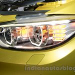 BMW M4 Coupe headlight glow for India