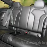 BMW M4 Coupe rear seat for India