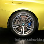 BMW M4 Coupe rear wheel for India
