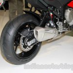 BMW S 1000 XR rear wheel at EICMA 2014