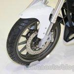 Benelli BN251 front wheel at EICMA 2014