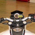 Benelli BN251 isntrument console at EICMA 2014