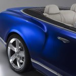 Bentley Grand Convertible concept wheel