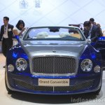 Bentley Grand Convertible front at the 2014 Los Angeles Auto Show