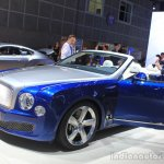 Bentley Grand Convertible front three quarters at the 2014 Los Angeles Auto Show
