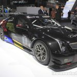 Cadillac ATS-V.R front three quarters left at the 2014 Los Angeles Motor Show