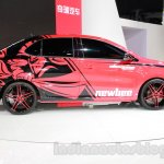 Chery Arrizo 3 Newbee Champion Edition side at Guangzhou Auto Show 2014