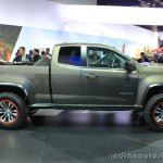 Chevrolet Colorado ZR2 side at the 2014 Los Angeles Auto Show