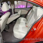 Chevrolet Sail 3 rear seat at 2014 Guangzhou Auto Show