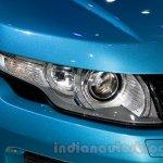 China made Range Rover Evoque headlight at 2014 Guangzhou Auto Show