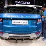 China made Range Rover Evoque rear at 2014 Guangzhou Auto Show