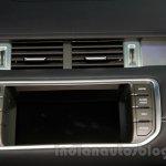 China made Range Rover Evoque screen at 2014 Guangzhou Auto Show