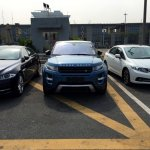 China-made Range Rover Evoque spied