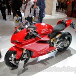 Ducati 1299 Panigale front three quarters left at EICMA 2014