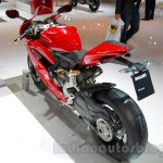 Ducati 1299 Panigale rear three quarters left at EICMA 2014