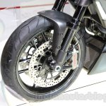 Ducati Diavel Titanium disc brake at EICMA 2014