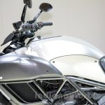 Ducati Diavel Titanium fuel tank at EICMA 2014