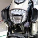 Ducati Diavel Titanium headlamp at EICMA 2014