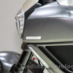 Ducati Diavel Titanium headlamp shroud at EICMA 2014