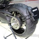 Ducati Diavel Titanium rear wheel at EICMA 2014