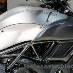 Ducati Diavel Titanium tank at EICMA 2014