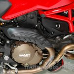 Ducati Monster 1200 S Stripe engine at the EICMA 2014