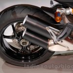 Ducati Monster 1200 S Stripe exhaust at the EICMA 2014