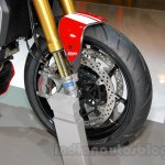 Ducati Monster 1200 S Stripe front disc brake at the EICMA 2014