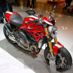 Ducati Monster 1200 S Stripe front three quarters left at the EICMA 2014