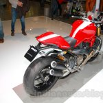 Ducati Monster 1200 S Stripe rear three quarters left at the EICMA 2014