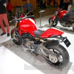 Ducati Monster 1200 S Stripe rear three quarters right at the EICMA 2014