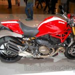 Ducati Monster 1200 S Stripe side at the EICMA 2014