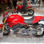 Ducati Monster 1200 S Stripe side view at the EICMA 2014