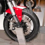 Ducati Monster 821 Stripe disc brake at EICMA 2014