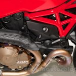 Ducati Monster 821 Stripe engine at EICMA 2014