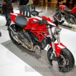 Ducati Monster 821 Stripe front three quarters left at EICMA 2014