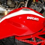 Ducati Monster 821 Stripe fuel tank at EICMA 2014